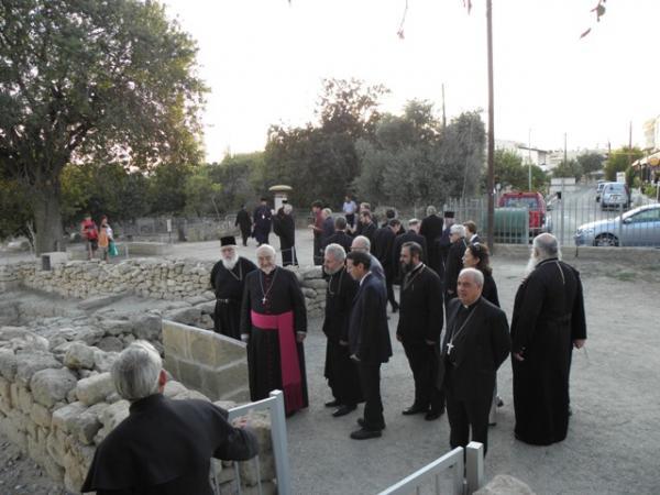 ruinele fostei resedinte a primului episcop de Pafos izgonit de catolici in timpul latinocratiei