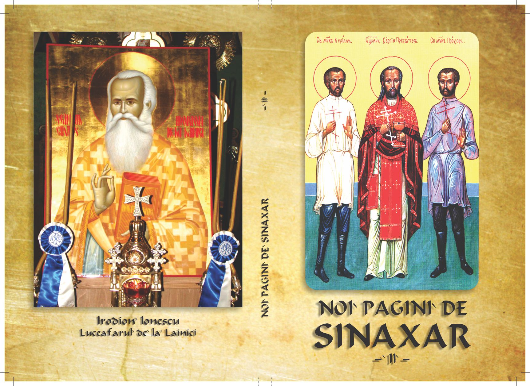 "Cartea ""Noi pagini de Sinaxar"" – Vol. al II-lea"