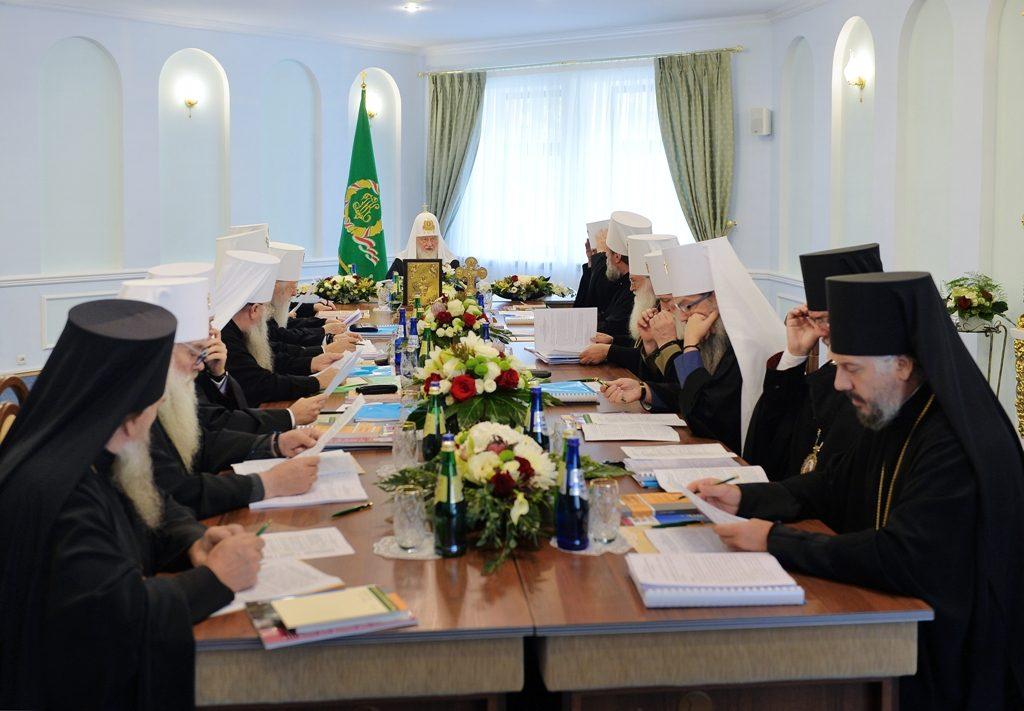 Патриарший визит в Беларусь. Заседание Священного Синода Русской Православной Церкви