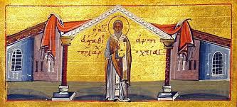 Sf Evstatie, Arhiep Antiohiei