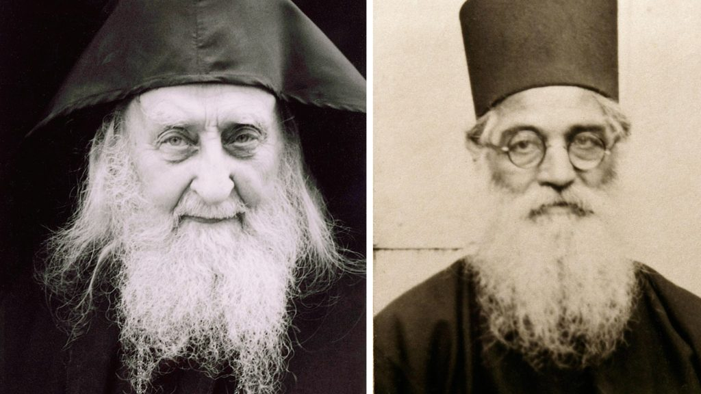 Sf.Sofronie-Saharov-si-Ieronim-Simonopetritul